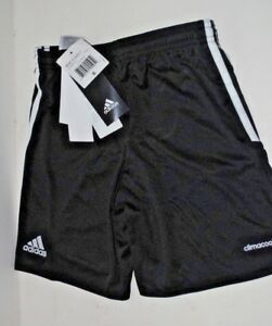 NEW w/tags!  ADIDAS blk/white soccer shorts - child small
