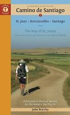 A PILGRIM'S GUIDE TO THE CAMINO DE SANTIAGO - BRIERLEY, JOHN - NEW PAPERBACK BOO