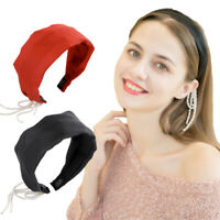 Elegant Women's Wide Headband Hairband Fabric Hair Band Hoop Accessories Party