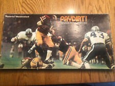 1973 PAYDIRT Game Sports Illustrated Pro Football NFL April House Vintage