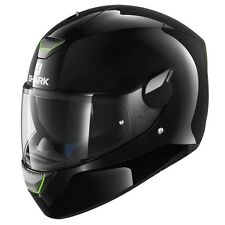Shark SKWAL Blank Black Motorcycle Road Helmet Full Face LED #sh5400blk
