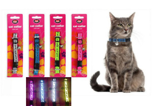 Cat collar High Visibility reflective Safety with bell
