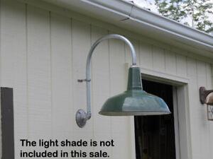 BARN LIGHT INDUSTRIAL LIGHT PORCELAIN LIGHT VINTAGE GAS STATION LIGHT MOUNT