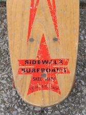 1960's Skee-Skate Sidewalk Surfboard
