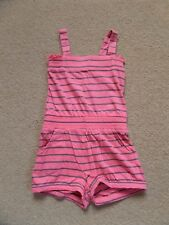 FABULOUS Girl's SUMMER Playsuit Age 5-6 Perfect for NOW!! 100% Cotton Pink