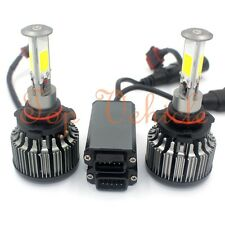 9005 6000K 2017 180W 18000LM 4-Side LED Headlight Kit High Beam White Lamp Bulbs