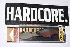 """yo zuri hardcore deep crank 2 3/8"""" 3/8oz matte crawfish r819-mdd type 3 craw"""