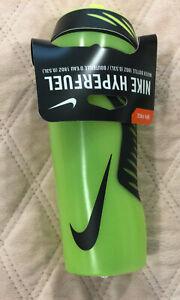 Nike Hyper fuel Water Bottle, Lime Green/Black 18oz