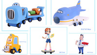 SUPER WINGS - FIGURA ARTICULADA JIMBO / JIMBO ARTICULATED FIGURE 14cm