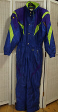 Vintage DESCENT 1990s Men's Ski Suit EU 50/M Coveralls Winter Snowboard Overalls