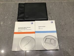 VW polo owners manual with Media GEN 2 and wallet