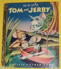 MGM's Tom & Jerry 1951 First Edition Little Golden Book Great Pictures! See!
