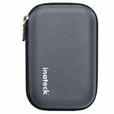 Inateck Portable Shockproof EVA Carrying Case with Zipper for 2.5 Inch HDD/SSD