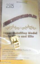 Precision Scale O #2505 Coupler Pocket, Heisler #2 Rear (Brass Casting)