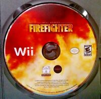 Real Heroes: Firefighter - Nintendo Wii & Wii U Game  Rare - Tested