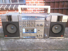 JVC PC-11 Stereoanlage Ghettoblaster Tragbar Ceramic Speakers Made in Japan 1983