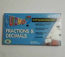 Quizmo Fractions & Decimals Bingo Game