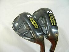 New Cleveland RTX 2.0 Black CB Wedge Set 56* SW & 60* LW Wedges STD Bounce