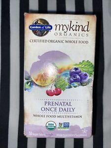 Garden Of Life MyKind Prenatal Once Daily 30 Vegan Tabs Whole Food Vitamin Organ