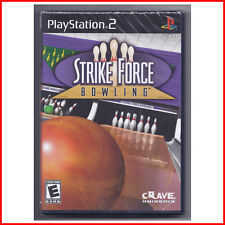 (Make an OFFER) *NEW* STRIKE FORCE BOWLING for Sony PlayStation 2 SEALED