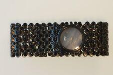 D&G Time  Risky Black DW0245 Quarz - Uhr OVP Swarovski