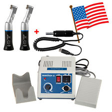 Dental Lab Marathon Electric Micromotor Polishercontra Angle Handpiece Black Us