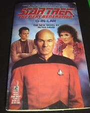 Star Trek The Next Generation Q-in-Law No. 18 by Peter David 1991 Paperback