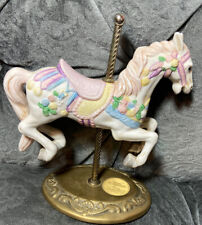 Willitts Design Carousel Horse Group 2 7� Pink Blue