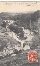 ANEME le pont du diable la route et le moulin timbrée 1913