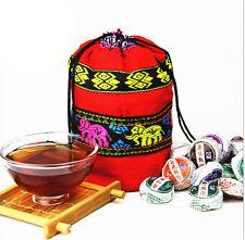 [Premium] 250G 50pcs Chinese YunNan Pu Er Tea  Flavor Pu Erh Tea In Bag