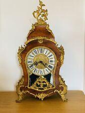 Magnificent Antique Vintage Lauris Boulle Chiming Mantle Clock