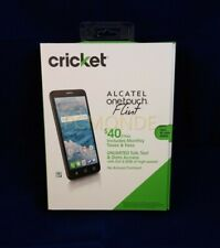 Cricket Alcatel OneTouch Flint 4G LTE 5.5-in HD IPS 16GB Cell Phone
