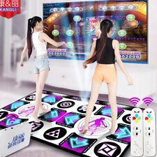 KL Flash Light 11mm Double Dance Pad Mat w Remote Control Sense Game for PC & TV