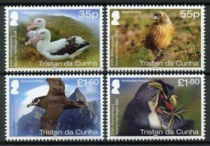 Tristan da Cunha Birds on Stamps 2020 MNH Gough UNESCO World Heritage 4v Set