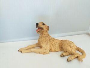 Irish Wolfhound or Deerhound dog figure model Castagna with certificate
