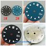 31mm sterile black blue watch Dial Fit eta 2836/2824 2813/3804 Miyota 8215 821A