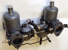Original Twin 1 1/2 Inch H Type Carburettors / Austin / Morris / Bmc / Mowog