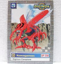 DIGIMON TRADING CARDS - KUWAGAMON 18/34 - CARTE UFFICIALI SERIE TV-1a SERIE