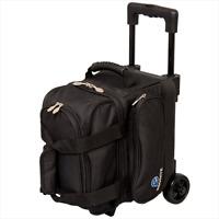 Ebonite Transport Black 1 Ball Roller Bowling Bag