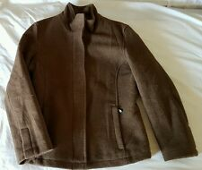 Ladies Size M / 10-12 Brown Wool Jacket - Colorado