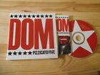 CD Pop Pizzicato Five - Sister Freedom Tapes (9 Song) MATADOR