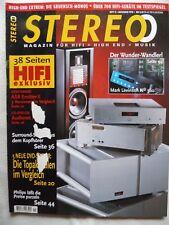Stereo 11/98, Mission 700,771, Tannoy Mercury m1, Infinity Delta 70,akg HEARO. Audio