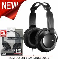 JVC HARX330│DJ Headphone│Over-Ear│Full-Size Deep Bass Stereo│Stereo│2.5m Cord