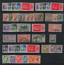 Italian Colonies lot mint and used with Coo, Oltre Giuba and others       KL0830
