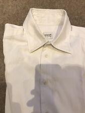 """Men's Armani Collezioni White Shirt. Size: 15.5"""" / 39. Cost £95"""