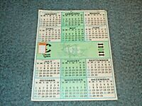 """1975 Chessie System Railroad 22""""x28"""" Poster Wall Calendar that is in good shape"""