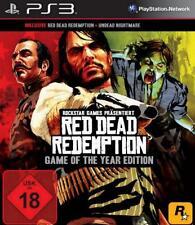 Playstation 3 RED DEAD GOTY Edition REDEMPTION + Undead Nightmare Neuwertig