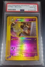 Pokemon PSA 10 Hypno Reverse Holo Aquapolis GEM MINT 16/147