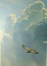 "Robert Bateman ""Flying High - Golden Eagle Artist's Proof on Paper""  S/N L/E"