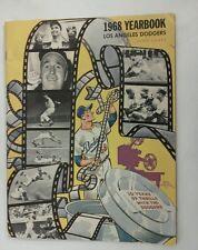 Vintage Baseball 1968 LOS ANGELES DODGERS Team Yearbook Drysdale RARE